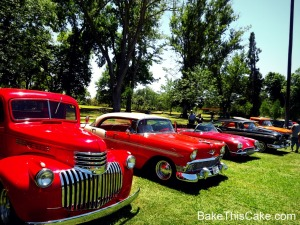 Snelling Homecoming Car Show 2012 BakeThisCake