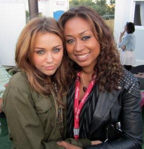 Carmel with Miley Cyrus