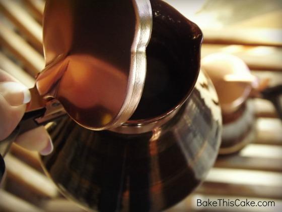 Chocolate Coffee Syrup Bake This Cake