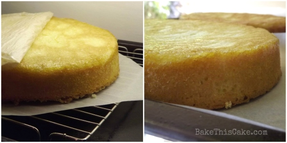 Cooling Helen of Troy Orange Cake Collage Bake This Cake