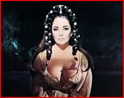 Elizabeth Taylor as Helen of Troy Cameo in Richard Burton's film Doctor Faustus