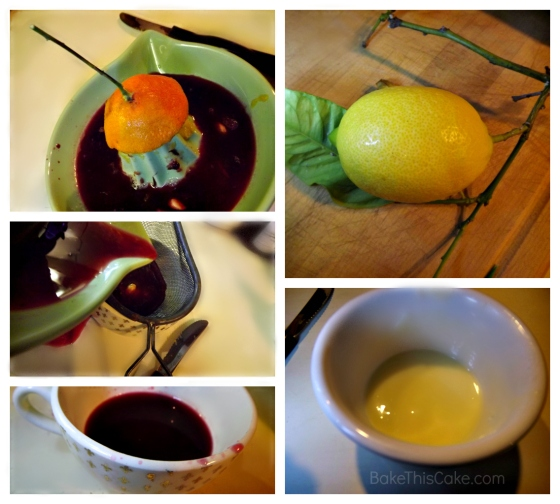 Fresh Squeezed Juice for Orange Lemon Cake Bake This Cake
