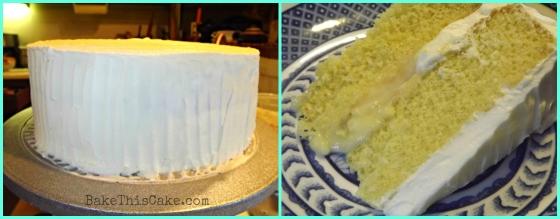 Helen of Troy Orange Cake with Center Tangerine Custard Collage Bake This Cake