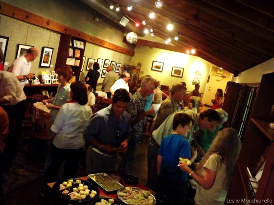 LifeForcePhotos Gallery Reception Crowd photo by Leslie Macchiarella