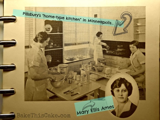 Pillsbury Kitchen 1930's with Mary Ellis Ames Bake This Cake
