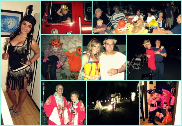 Knollwood Annual Halloween Party Collage