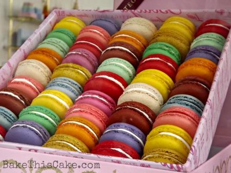 Macarons from Bottega Louie's Bake This Cake