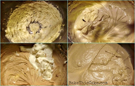 Applejack Sour Cream Spice Cake Batter Prep Collage Bake This Cake