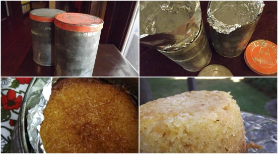Crushed Pineapple Cake Steamed in Old Tins Bake This Cake