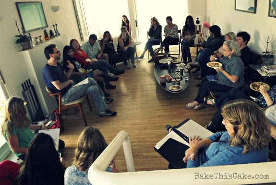 FBLA Food Bloggers Los Angeles November Meeting 2012 Bake This Cake