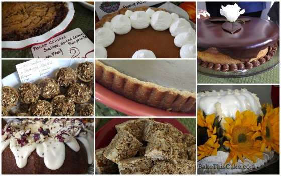 Thanksgiving Dessert Buffet with Food Bloggers Bake This Cake