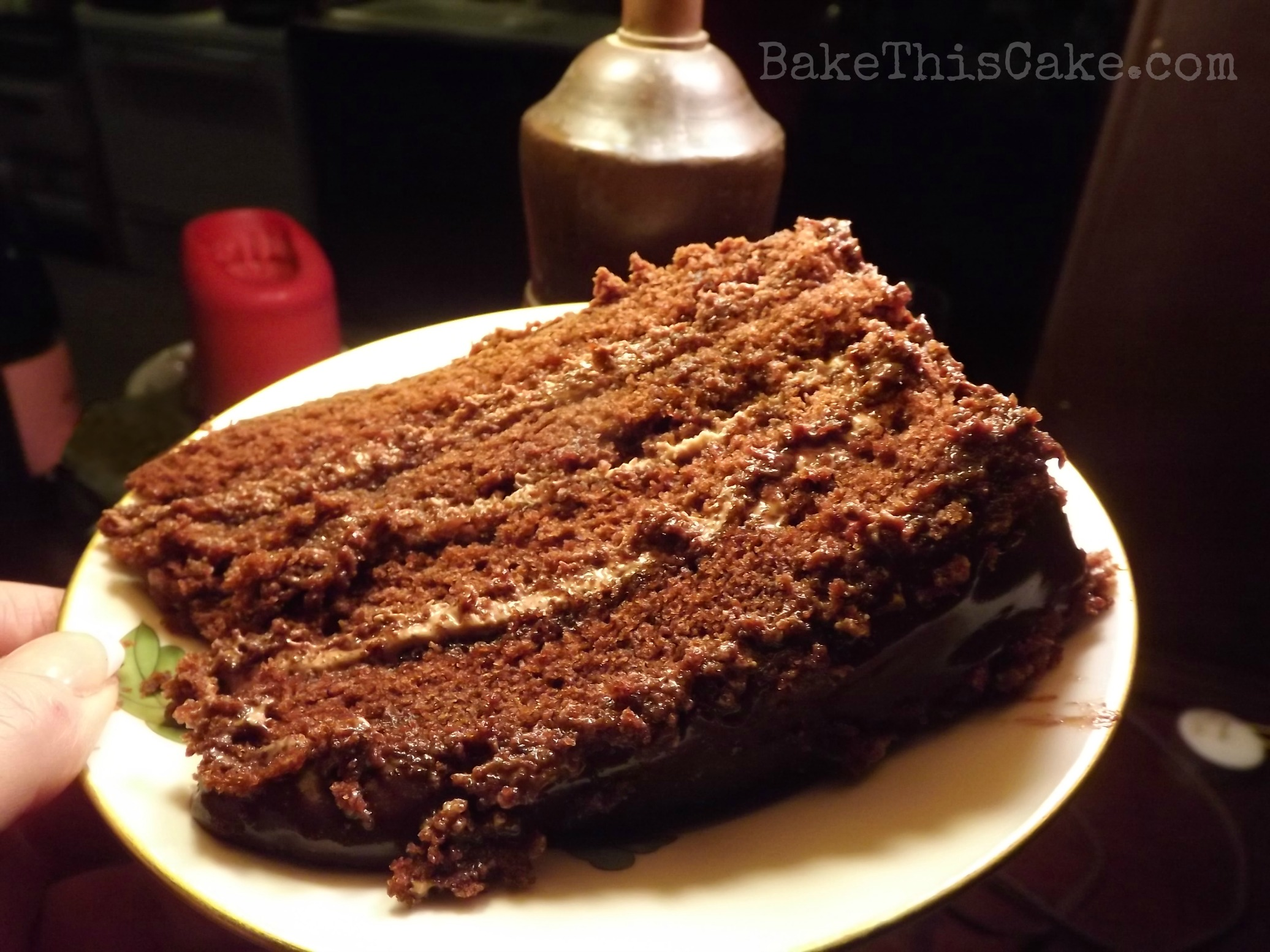 Vinegar cake recipe chocolate