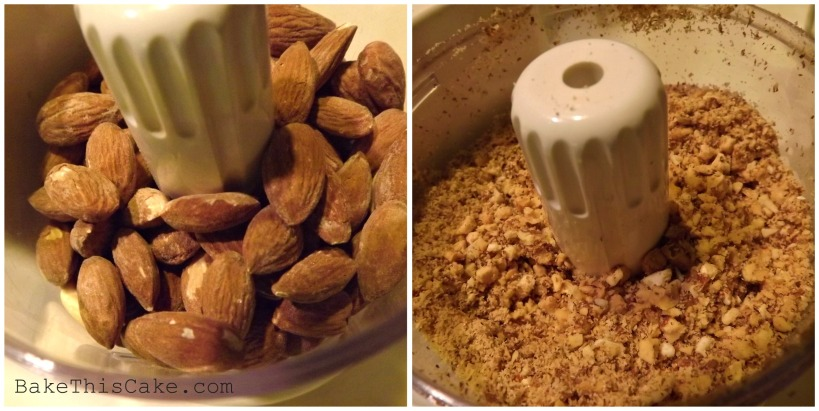 Grinding Almonds for Bread Crumb Cake Cookies Bake This Cake