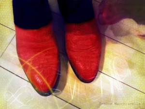 Butter Shined Red Cowboy Boots photo by Leslie Macchiarella