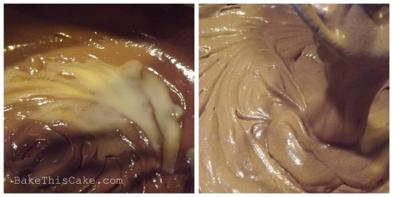 Beating the chocolate ale batter recipe bake this cake