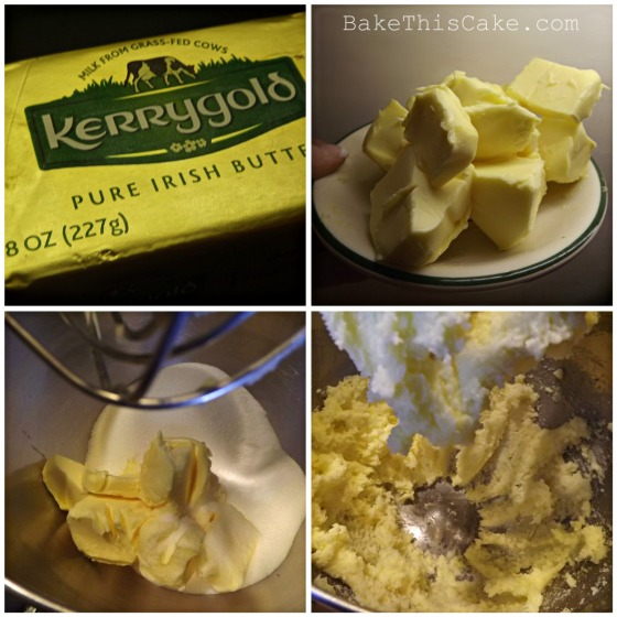 Creaming butter with sugar for chocolate ale cake recipe Bake this cake