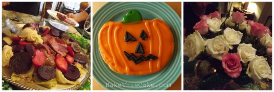 Irish Halloween collage bakethiscake
