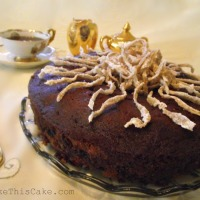 Mrs. Roosevelt's Clove Cake for the Culinary Historians' Yosemite Gathering
