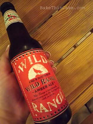 Wild Range Amber Ale beer for Chocolate Ale Cake Recipe BakeThis Cake