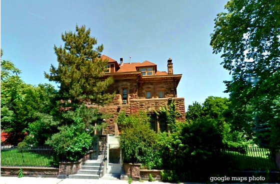 Frank M Lupton home in 1910 at 839 Marks Ave Brooklyn google maps photo
