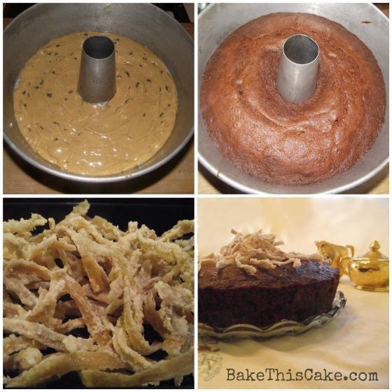 vintage clove cake recipe collage bake this cake