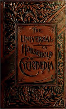 The Universal Houshold Cyclopaedia cover