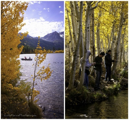 California Sierra Nevada Convict Lake Fishing photos by LifeForcePhotos for BakeThisCake
