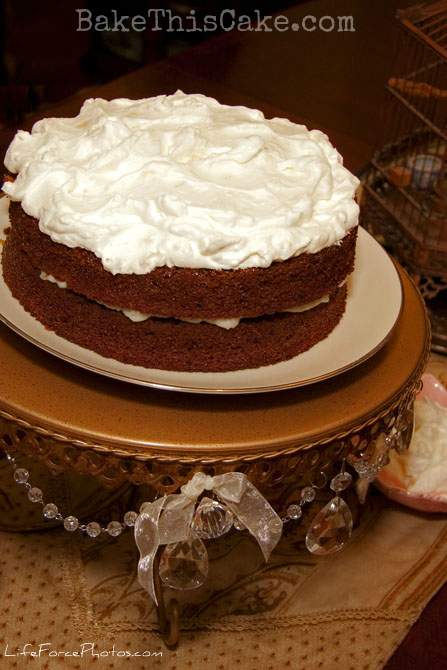 Vintage Apple Cider Cake Recipe With Apple Cream Filling
