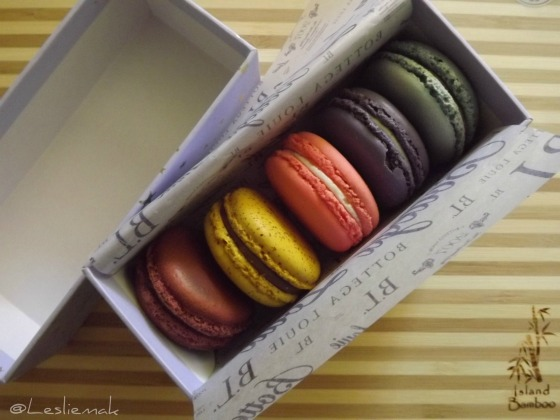 Bottega Louie French Macarons photo by Leslie Macchiarella