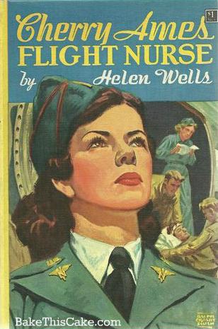 Cherry Ames Flight Nurse by Helen Wells Jacket Cover photo bakethiscake