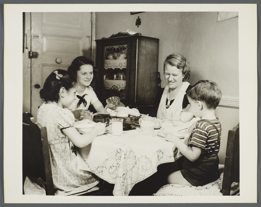 Family Meal 1944
