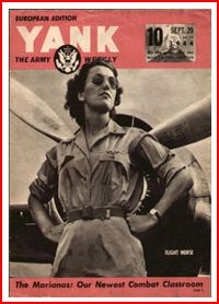 Flight Nurse cover of Yank The Army Weekly
