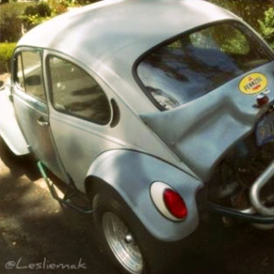 Michelangelo's VW Baja Bug photo by Leslie Macchiarella