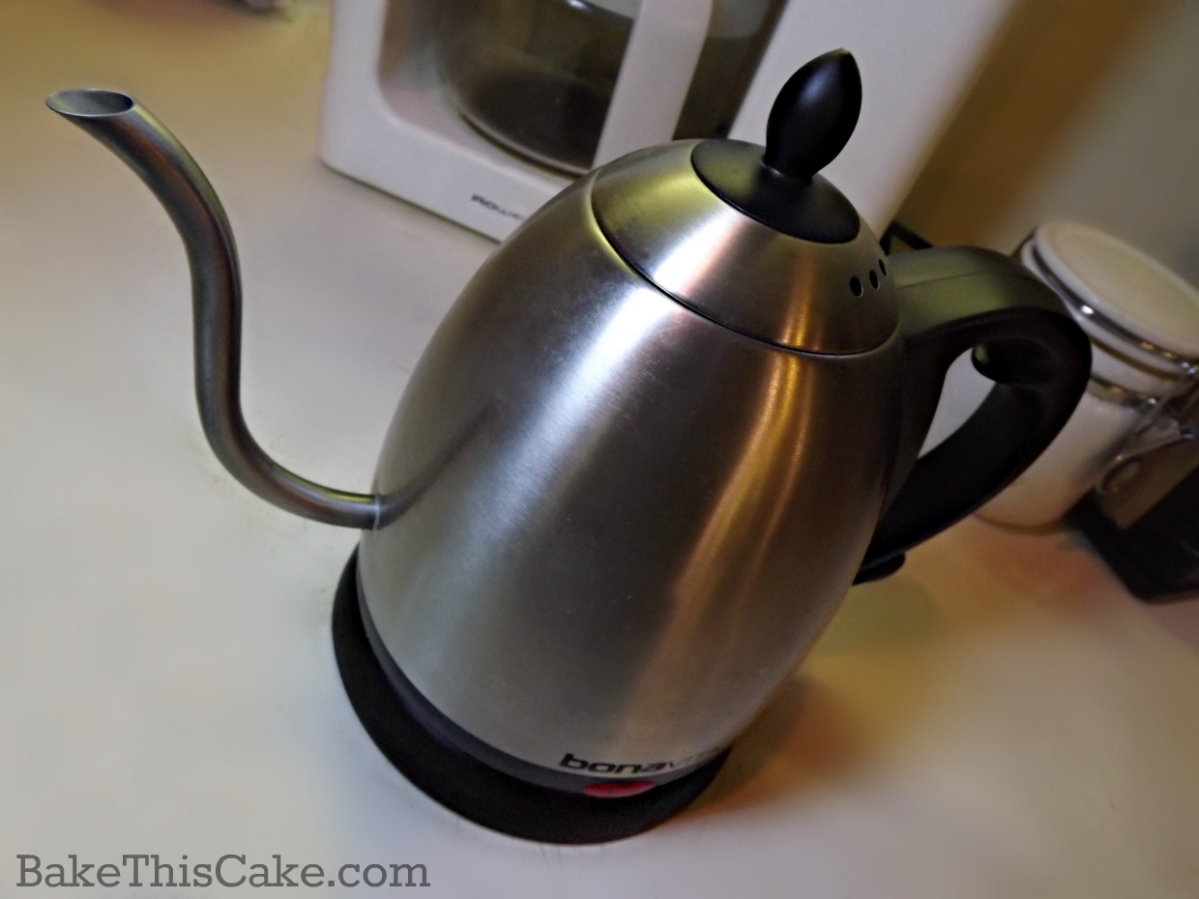 Bonavita electric pour over water kettle by bakethiscake