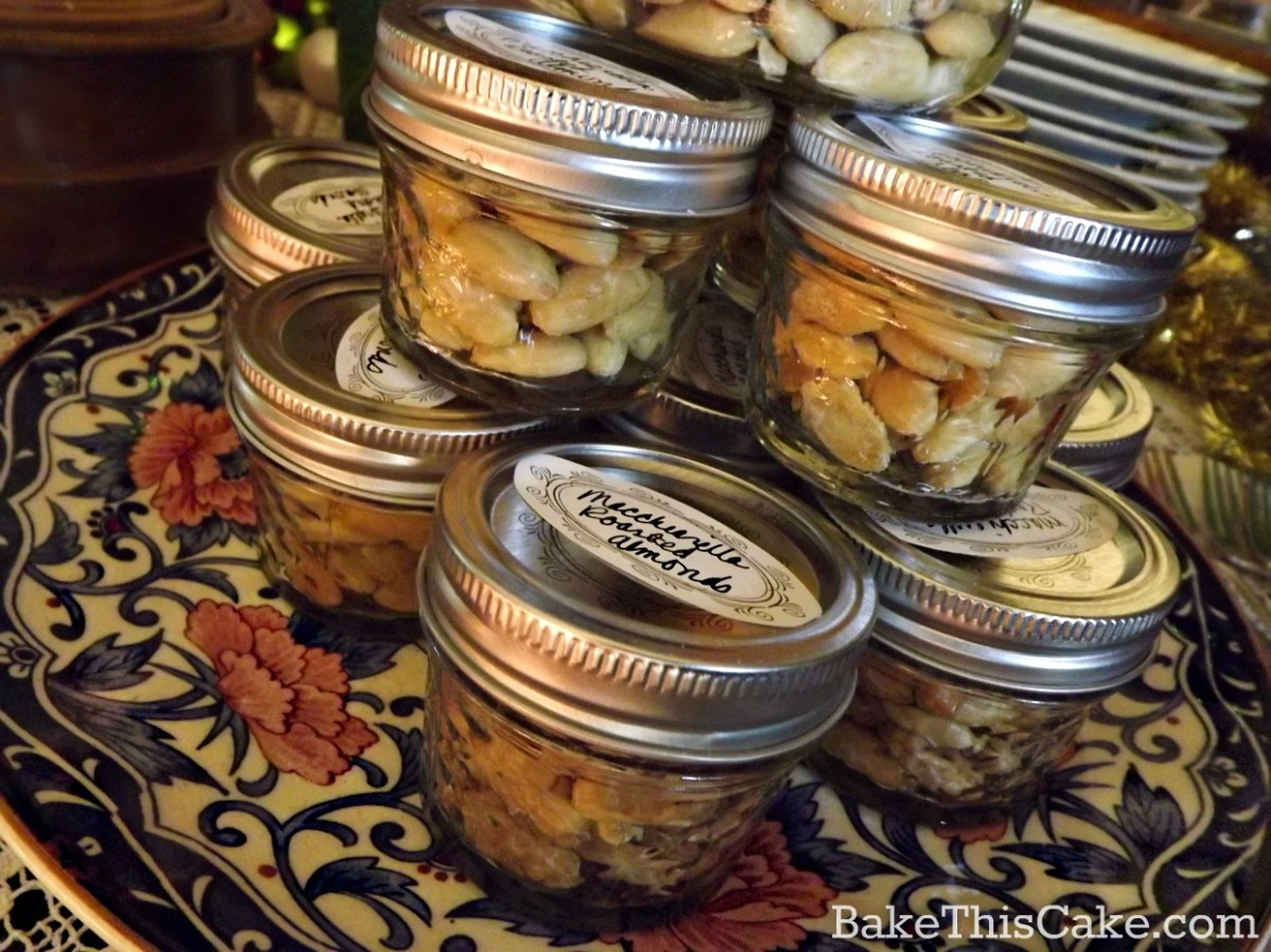 Almond Jar Gifts for the holidays by bake this cake