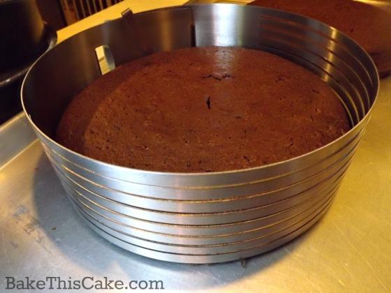 Cake slicing tool by bake this cake