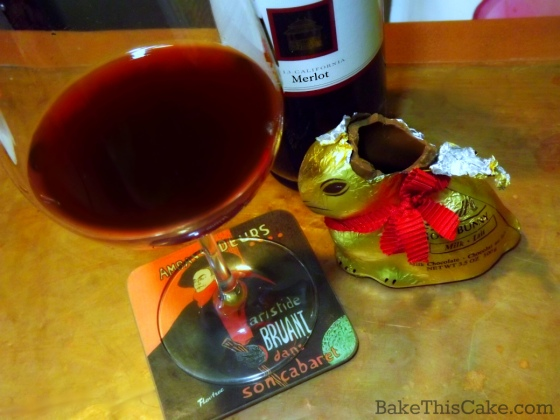 Pairing Chocolate with Wine by Bake This Cake