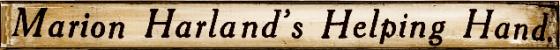 Marion Harland's newspaper column 1912 bakethiscake