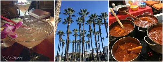 Olvera Street Margaritas, LA Palms, Pumpkin Chili Feast by bakethiscake