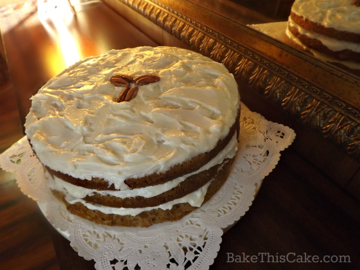 Heartwarming and Patriotic Maple Syrup Cake Recipe
