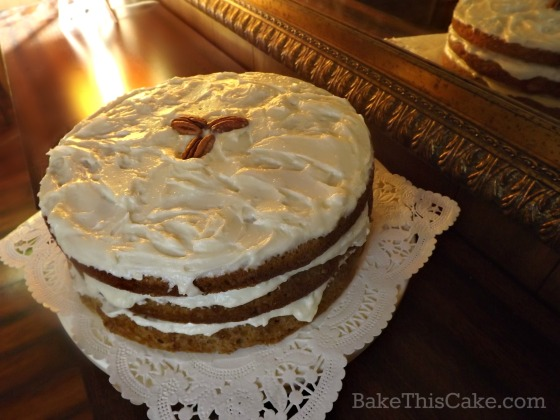 Charming Maple Syrup Cake Historic Recipe by bake this cake