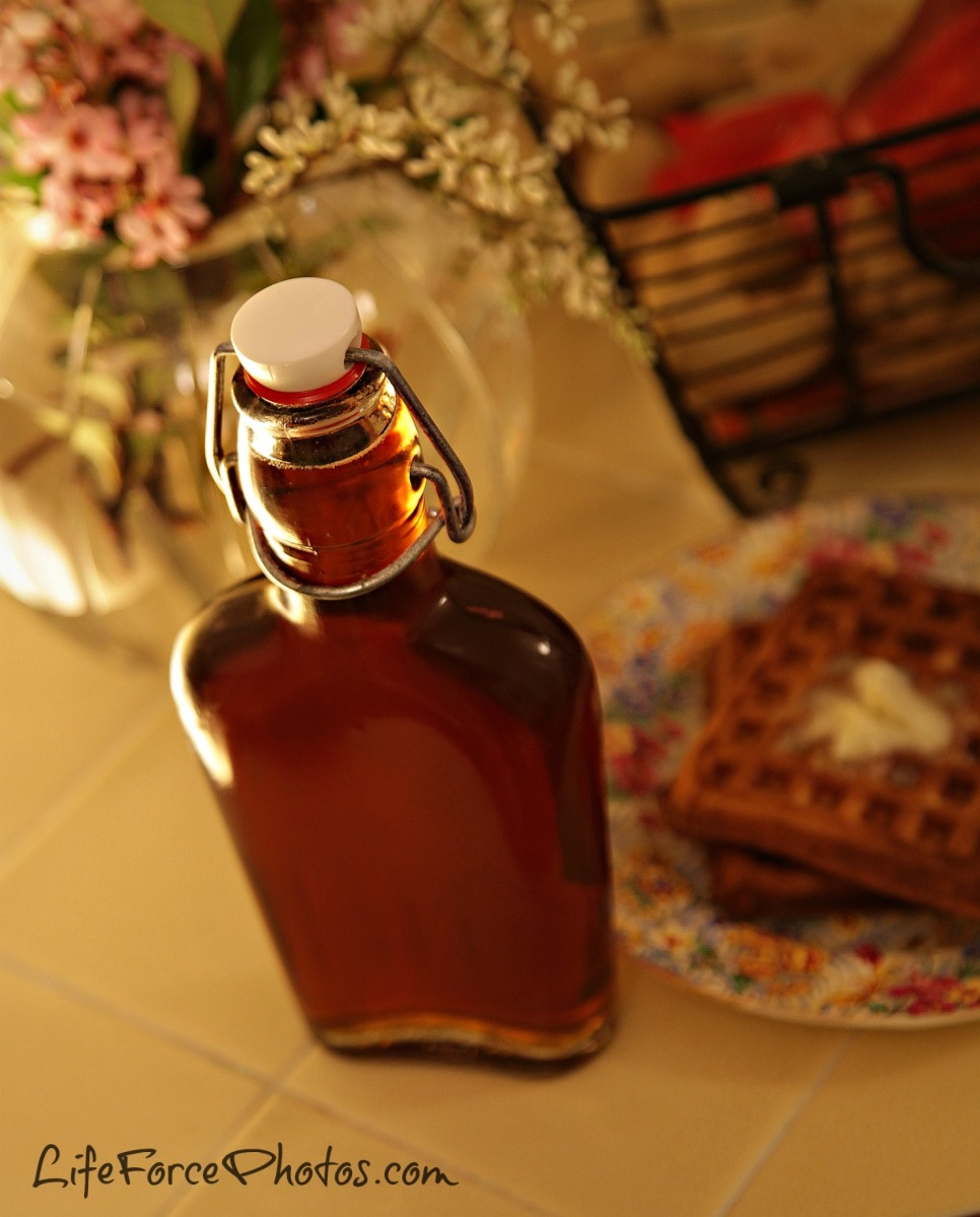 Homemade Maple Syrup from the tree photo by LifeForcePhotos