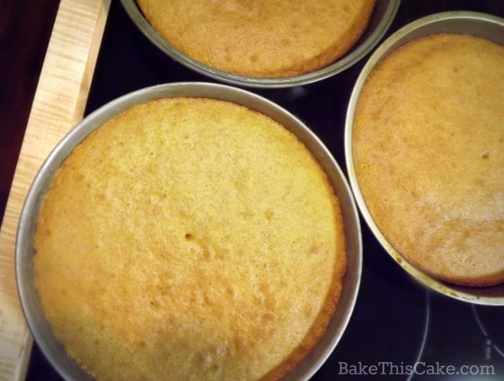 Maple Syrup Layer Cakes 1918 recipe by bake this cake