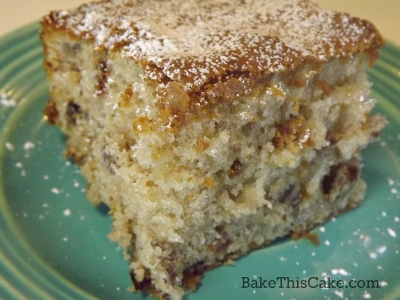 Modern Boozy Nutty Election Cake with spiced rum by bakethiscake