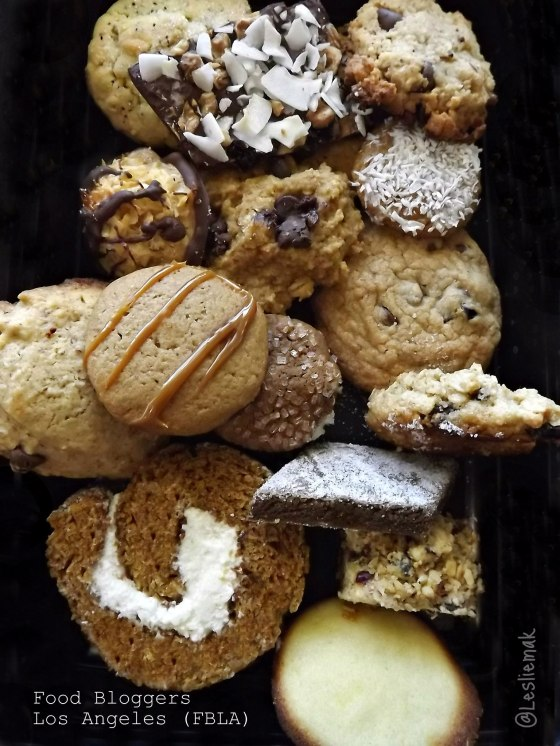 FBLA Food Bloggers Los Angeles Cookie Exchange by BakeThisCakecom