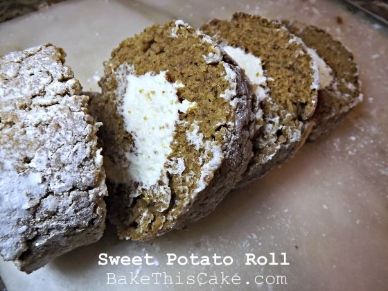 Old School Sweet Potato Roll Recipe by BakeThisCakecom